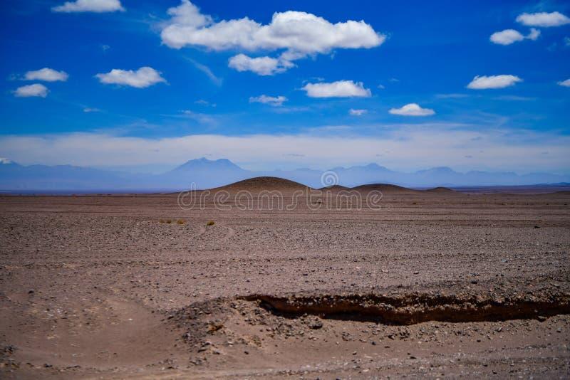 Desierto de San Pedro de Atacama en Chile fotografía de archivo libre de regalías