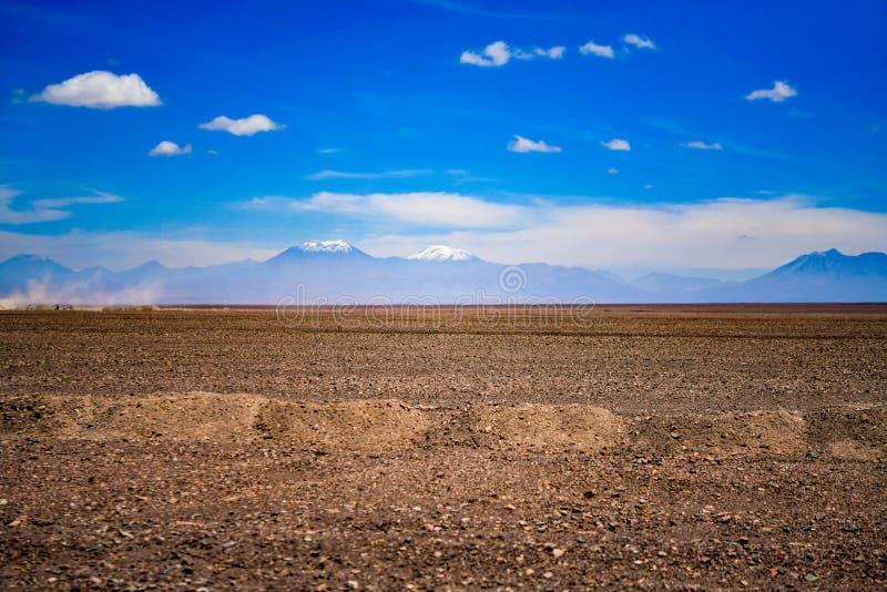 Desierto de San Pedro de Atacama en Chile fotos de archivo libres de regalías