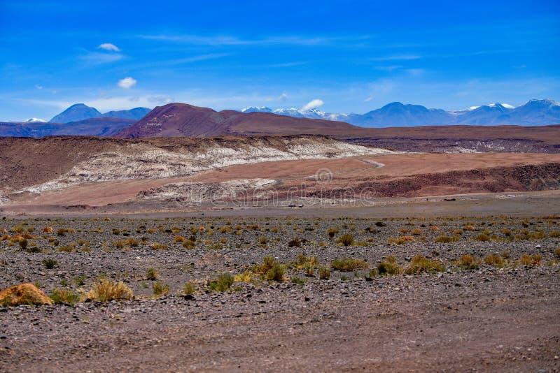 Desierto de San Pedro de Atacama en Chile fotos de archivo