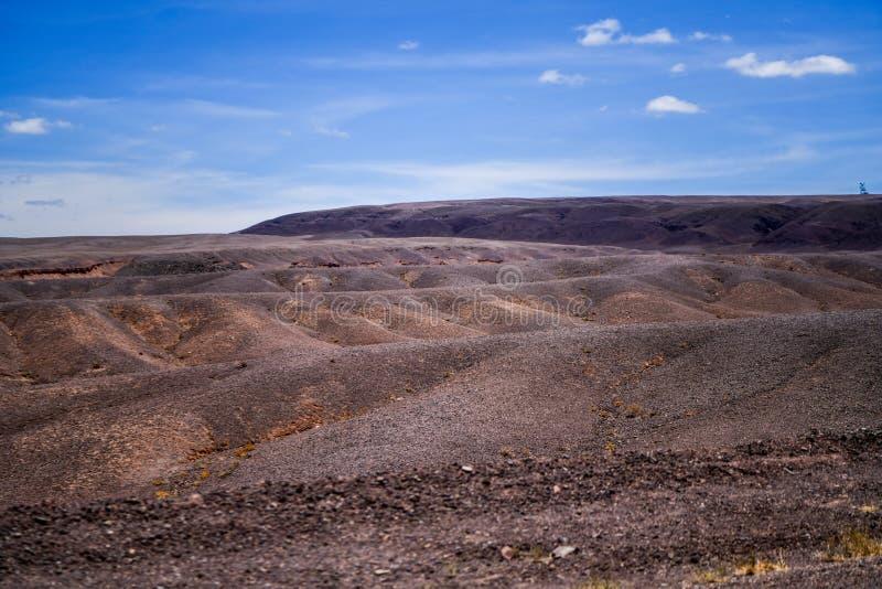 Desierto de San Pedro de Atacama en Chile foto de archivo libre de regalías