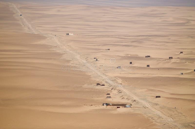 Desierto del AIC fotografía de archivo libre de regalías
