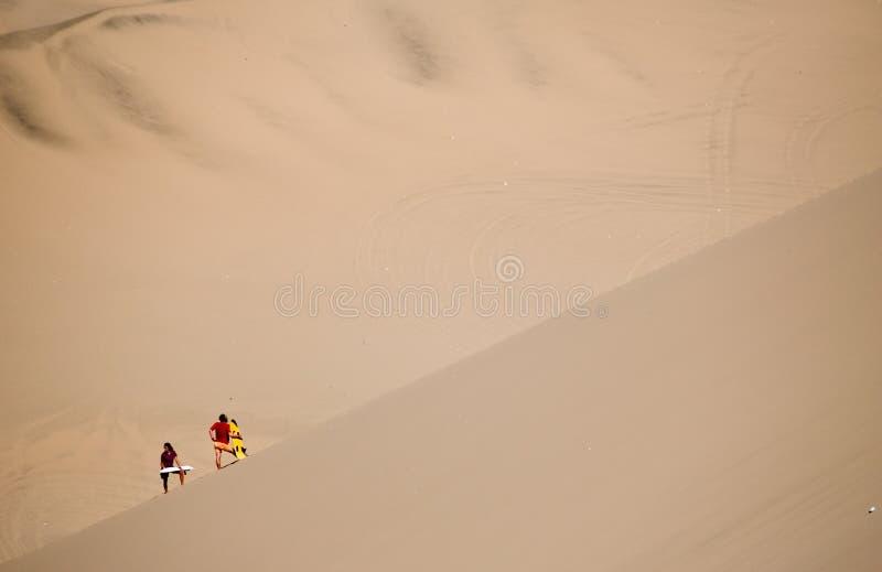 Desierto del AIC, Perú imagen de archivo libre de regalías