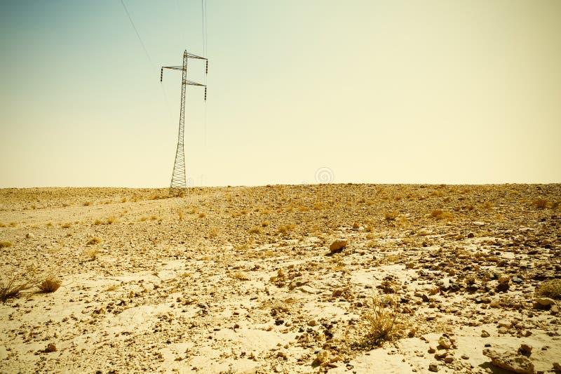 Desierto del estilo del vintage fotografía de archivo