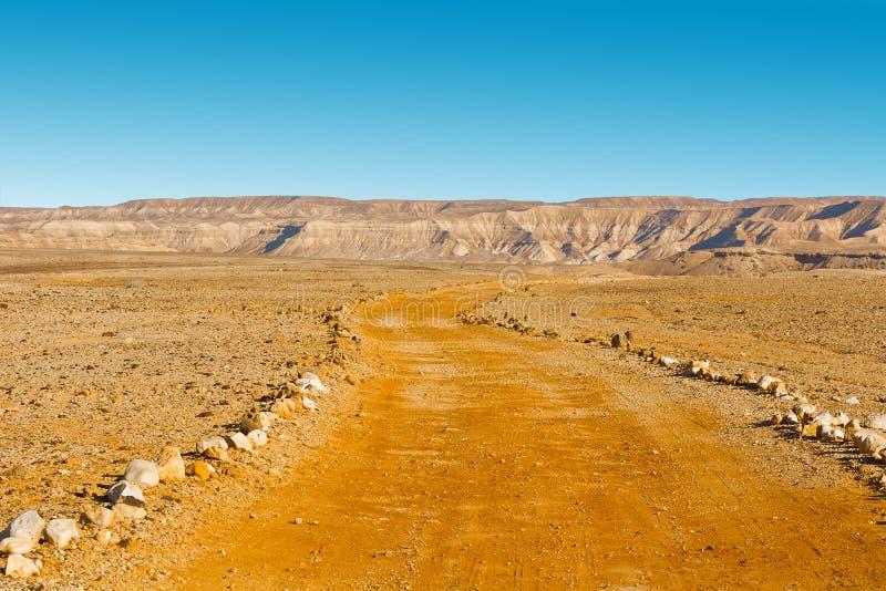 Desierto del Néguev imágenes de archivo libres de regalías