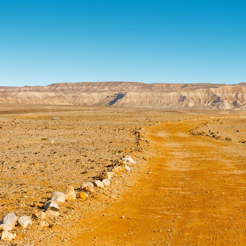 Desierto del Néguev fotos de archivo libres de regalías