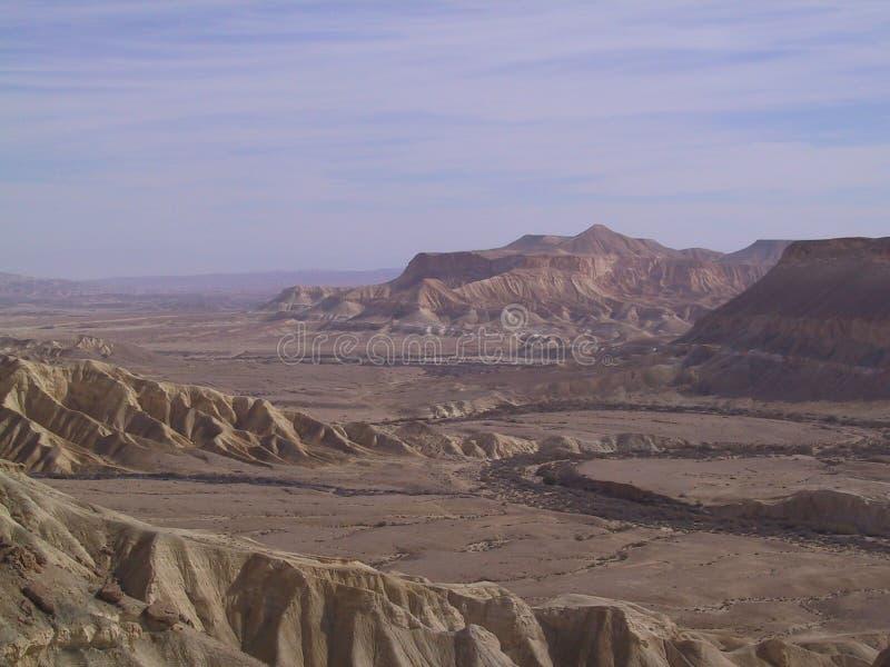Desierto del Néguev fotografía de archivo libre de regalías