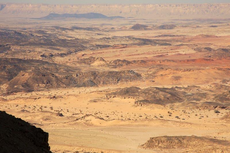 Desierto del Néguev, Israel. imagenes de archivo