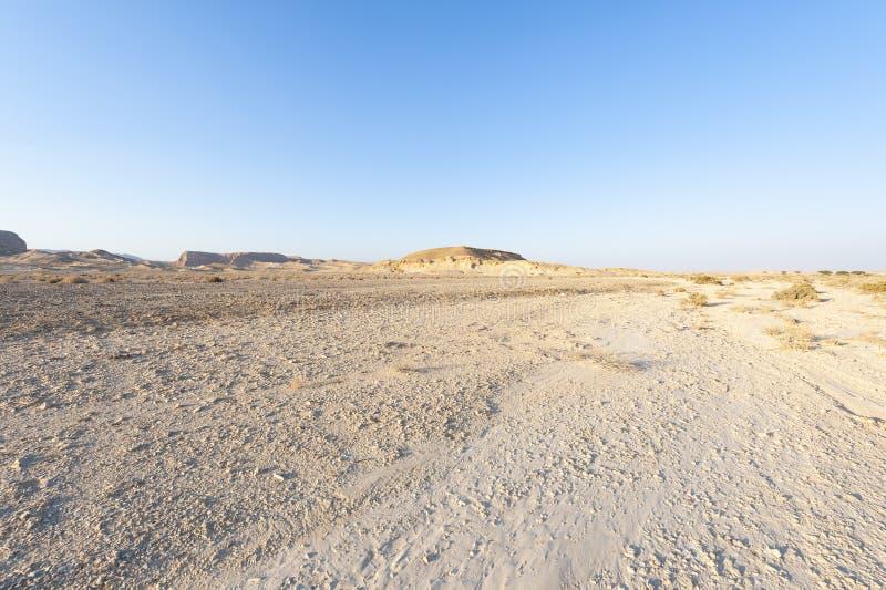 Desierto del N?guev en Israel fotografía de archivo libre de regalías