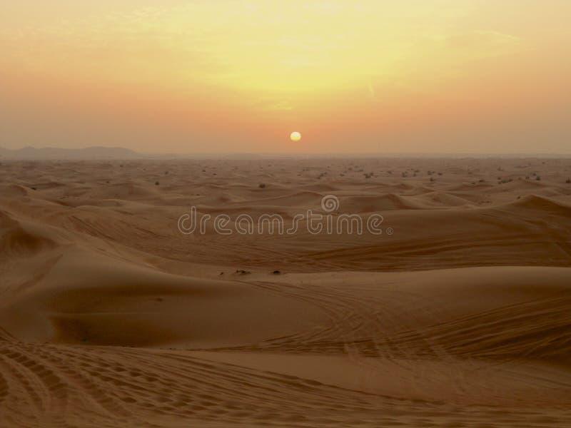 Desierto Dubai foto de archivo libre de regalías