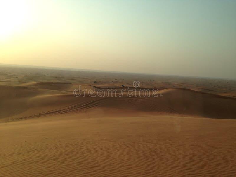 Desierto en Dubai fotografía de archivo libre de regalías