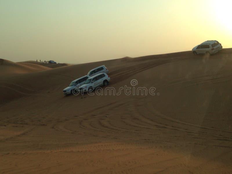 Desierto en Dubai fotografía de archivo