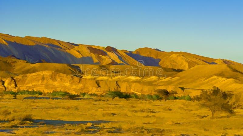 Desierto en Israel libre illustration