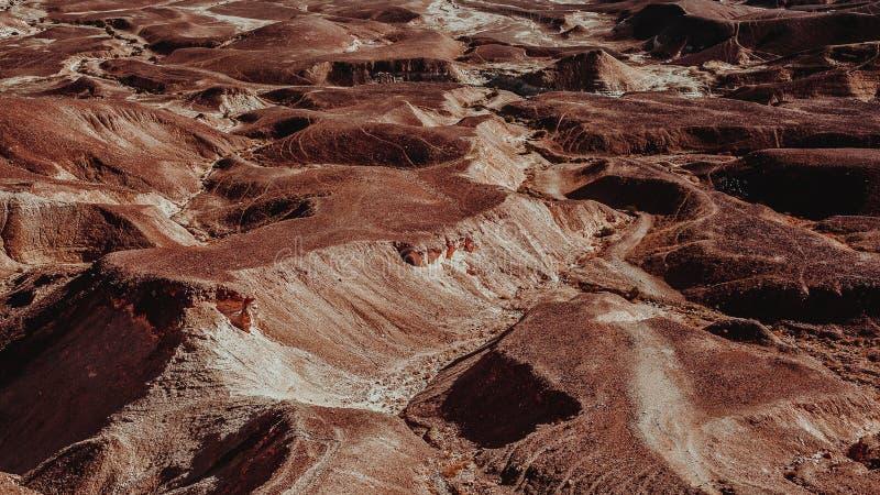 Desierto en Israel fotografía de archivo libre de regalías