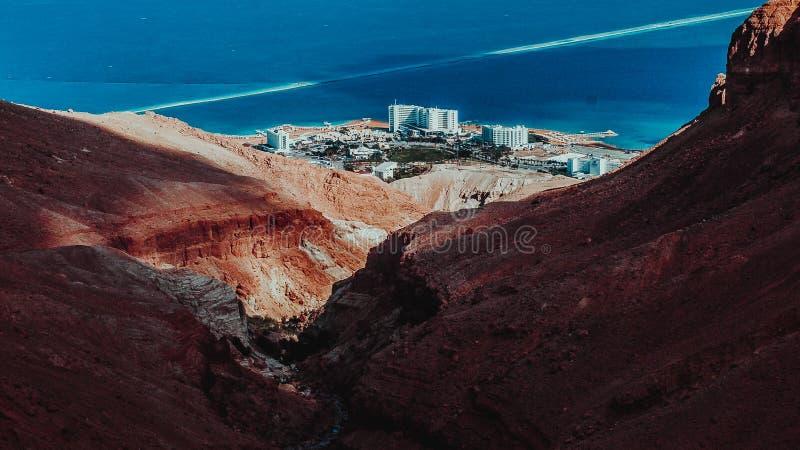Desierto en Israel imagen de archivo