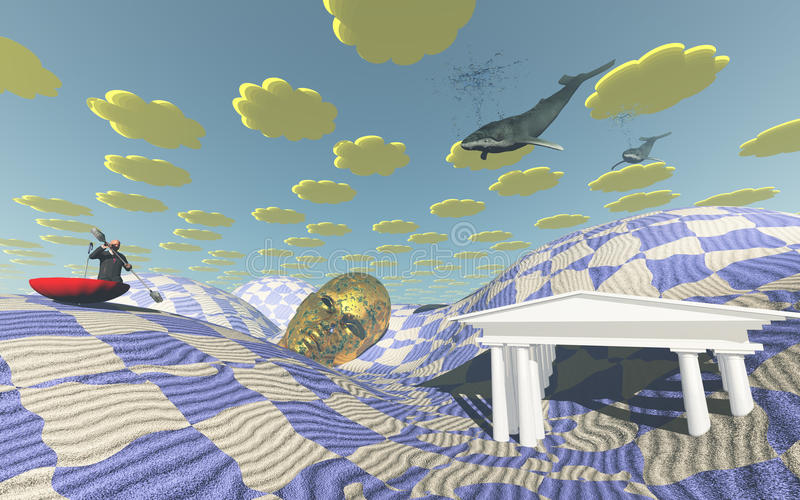 Desierto extraño libre illustration