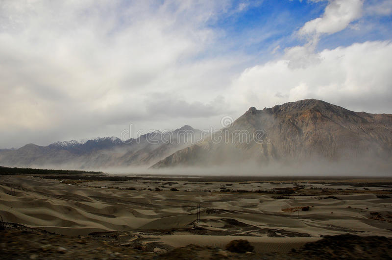 Desierto frío fotos de archivo