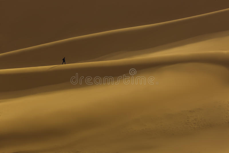 Desierto Libia foto de archivo