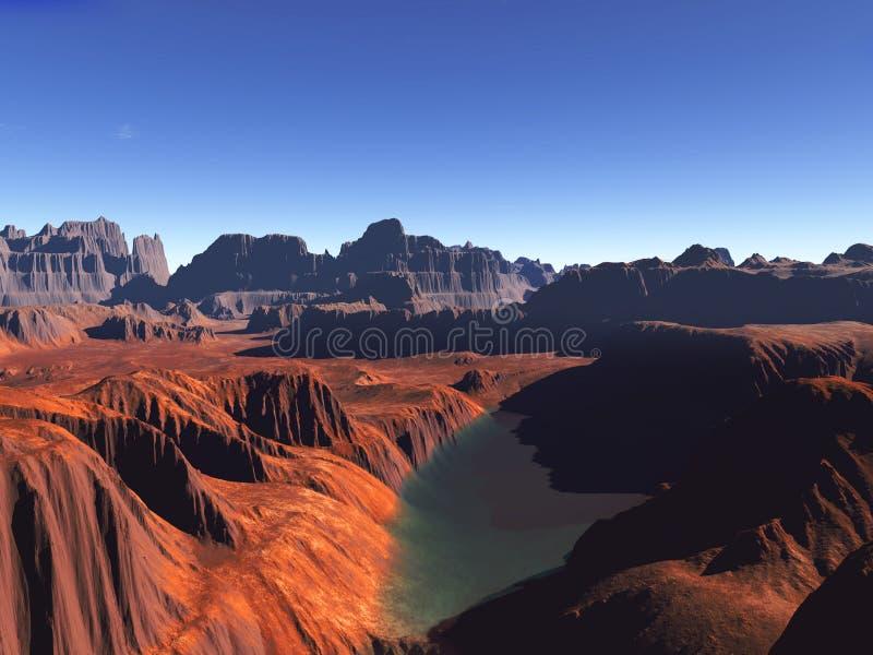 Desierto rojo libre illustration