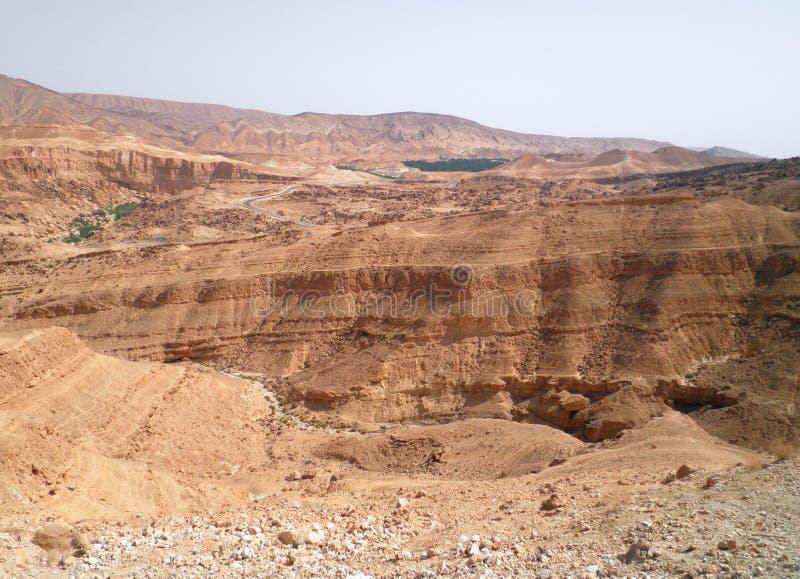 Desierto Sáhara - Túnez imagenes de archivo