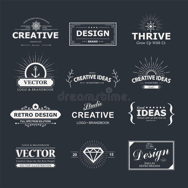 Design royaltyfri illustrationer