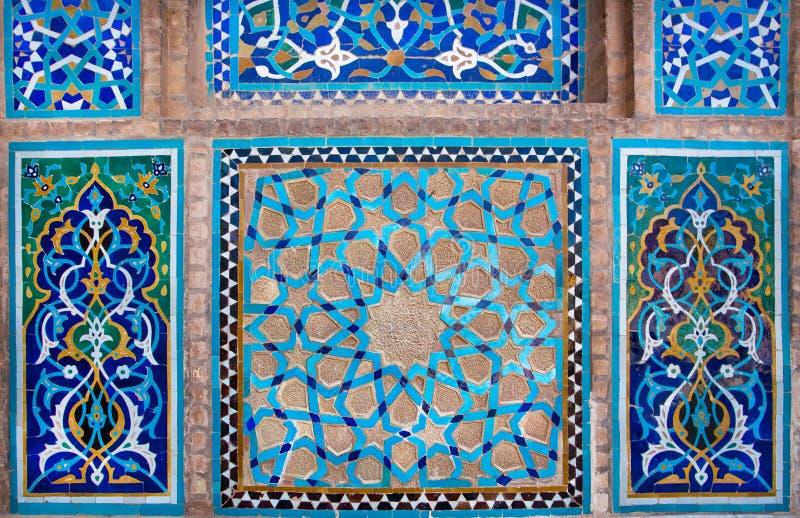 Design Of Antique Ceramic Tile Inside The Historic House