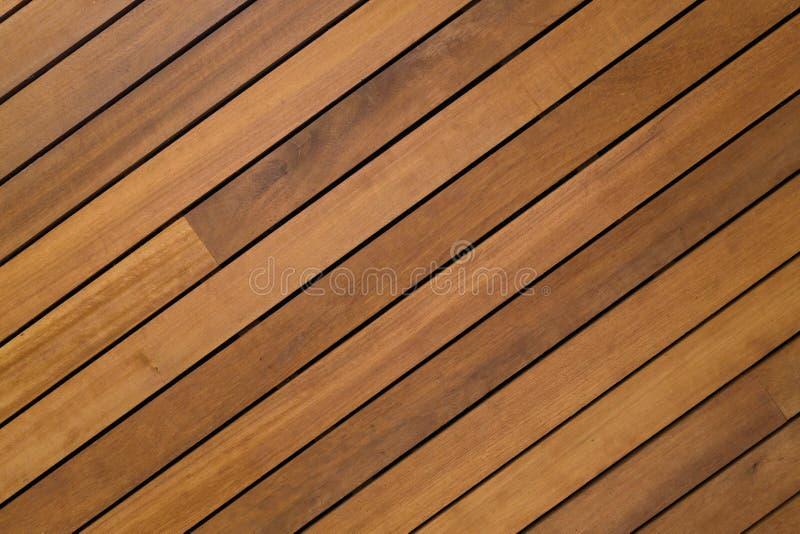 Design av den wood plankan som används för modern vägginre arkivfoton