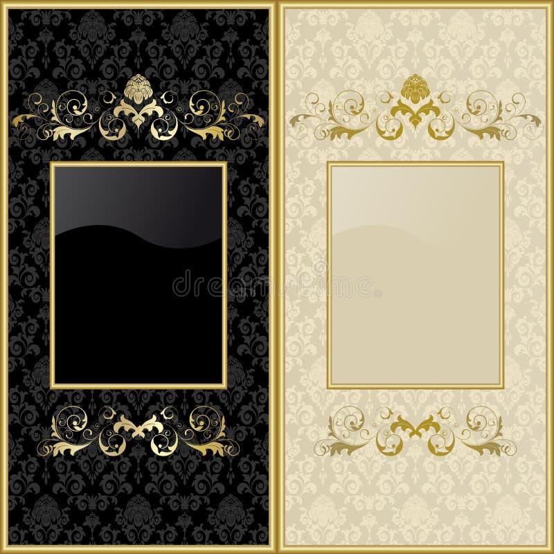 Design backgrounds royalty free illustration