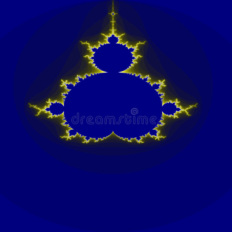 design with blue background stock image