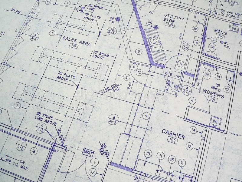 Download Design Blueprint Stock Photography - Image: 1682302