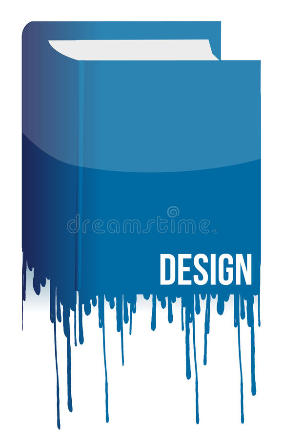Design book with ink drops