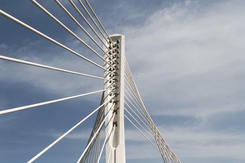 Design of the Bridge royalty free stock photography