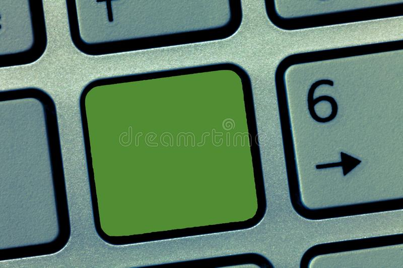 Design business concept Empty template copy space text for Ad website  Keyboard key Intention to create computer. Design business concept Empty template copy stock images