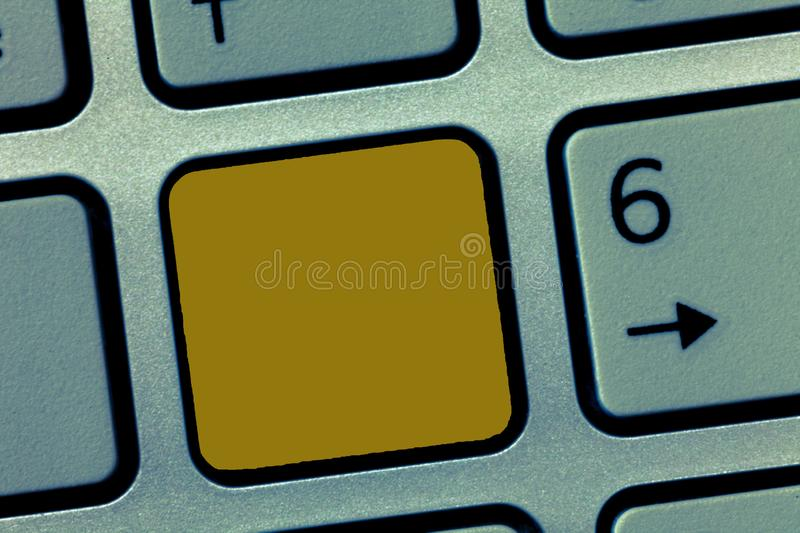 Design business Empty copy space text for Ad website promotion  Banner template Keyboard key Intention to create. Design business Empty copy space text for Ad royalty free stock photos