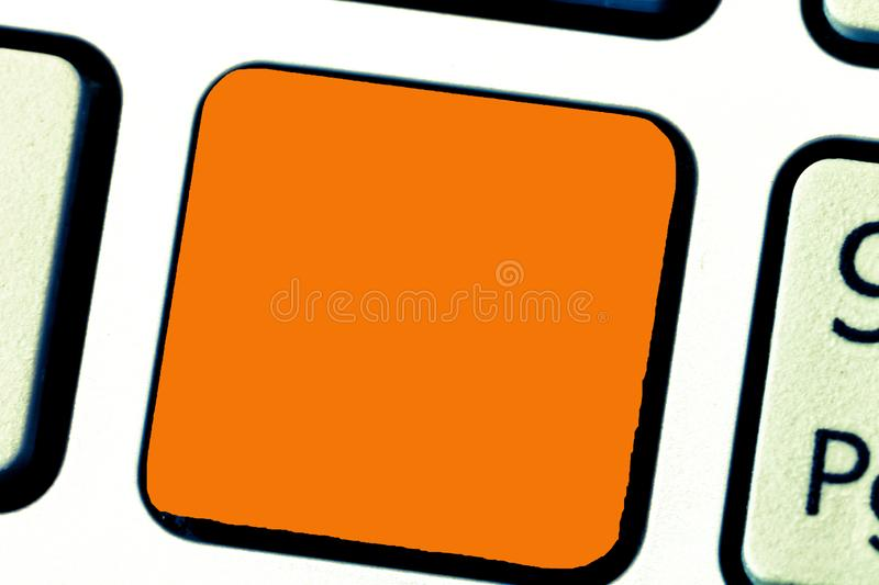 Design business Empty template  Minimalist graphic layout template for advertising Keyboard key Intention to. Design business Empty template  Minimalist graphic royalty free stock images
