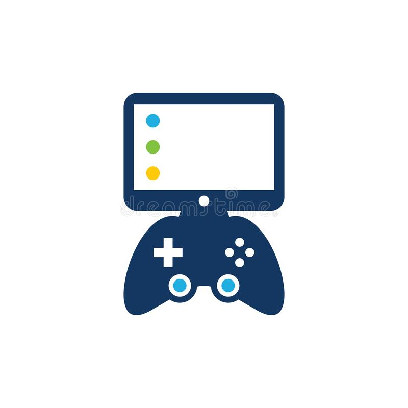 Desktop Game Logo Icon Design. This design can be used as a logo, icon or as a complement to a design vector illustration
