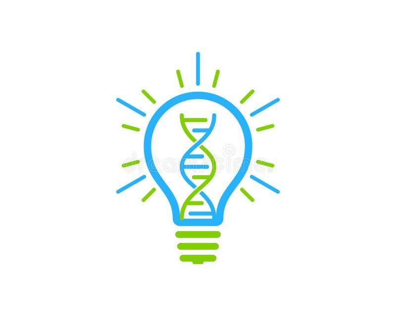 Innovation Dna Logo Icon Design royalty free illustration