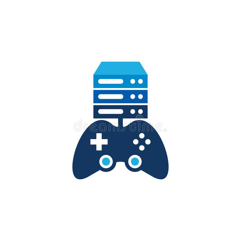 Server Game Logo Icon Design. This design can be used as a logo, icon or as a complement to a design stock illustration
