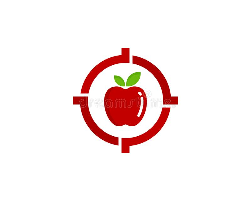 Vitamin Target Logo Icon Design. This design can be used as a logo, icon or as a complement to a design stock illustration