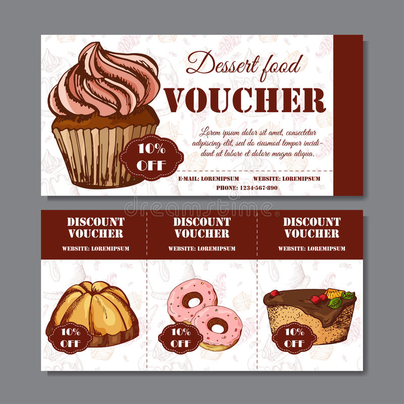Design Certificate For Your Company Voucher Template For Food