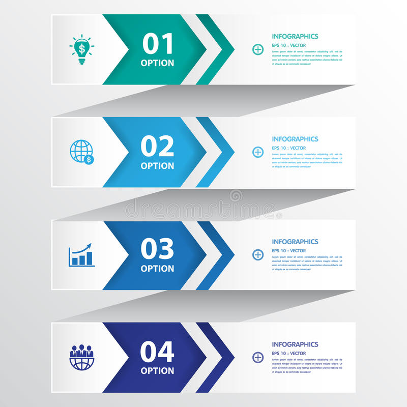 Free Design Clean Number Banners Template/graphic Or Website Layout. Stock Images - 52492964