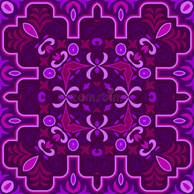 Seamless colorful of ethnic pattern royalty free stock photos