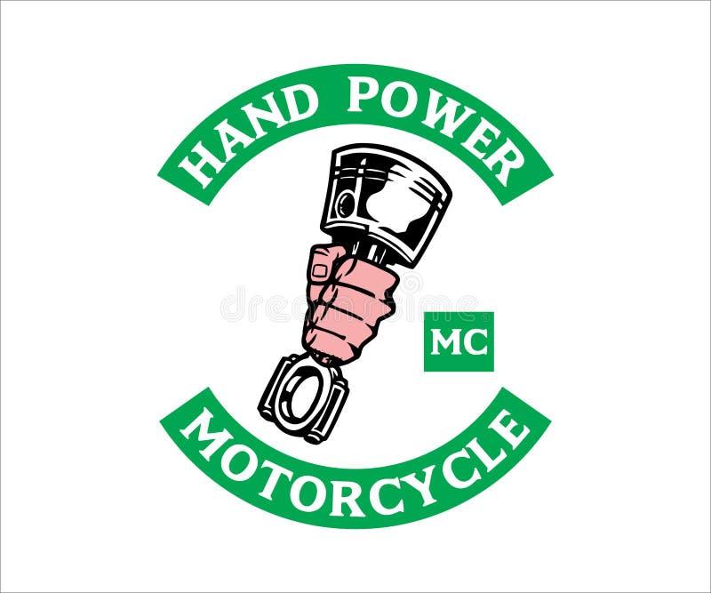 Motorcycle Club Logo, emblem, symbol, sticker stock image