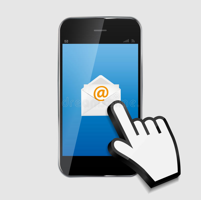 Design Concept Email Write Icon Vector stock illustration