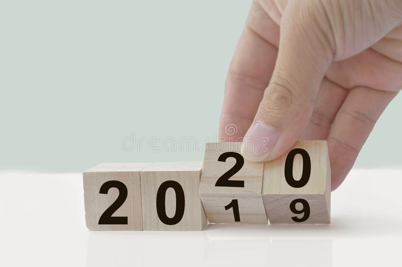 New Year 2020 concept. royalty free stock photos