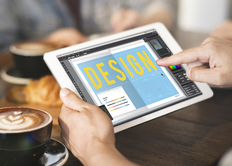 Design Creative Trends Graphic Concept royalty free stock photo