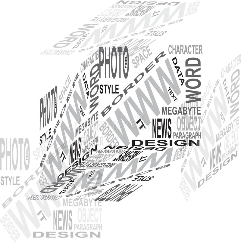 Free Design Cube Royalty Free Stock Photography - 13835157