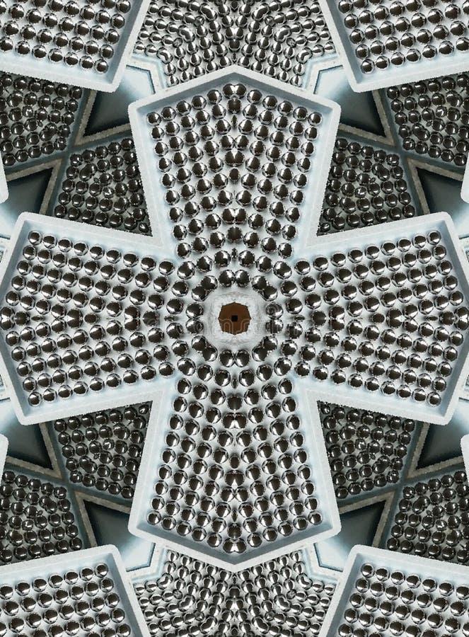Design de bolas de aço em branco prateado adequado para a indústria metalúrgica, esferas de fundo de aço, brochuras, páginas de w fotos de stock royalty free