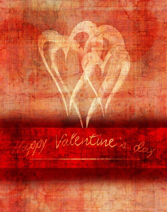 Design de carte de Saint Valentin illustration de vecteur