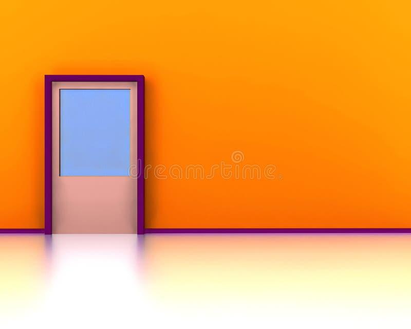 Design de interiores ilustração stock