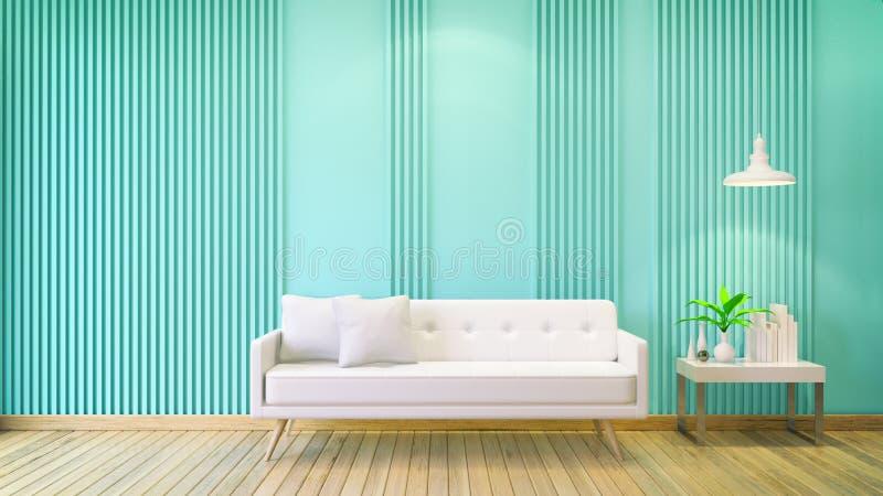 Design de interiores ilustração do vetor